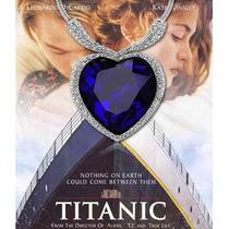 Colar Titanic Coração Do Oceano Heart Of The Ocean Importado
