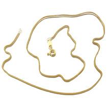 Linda Corrente De Elo Cartier Em Ouro Amarelo 18k J16601