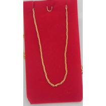 Colar Corrente Cartier Em Ouro Amarelo Legitimo 18k-750