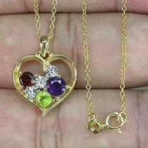Corrente Ouro 14 K Plated Prata 925 Multi Gemas Naturais