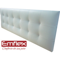 Cabeceira Painel Cama Box Casal Queen - Modelo Anne
