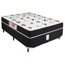 Conjunto Casal Box&colchao Espuma D45 158x198x67 Inmetro