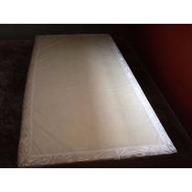 Cama Box Ortoclass Simples Solteiro Com Saia De Box Brancos
