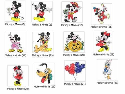 Coleção Bordados Disney Baby - Pes E Jef (brother, Janome) - R$ 12 ...