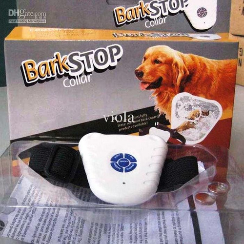 Coleira Anti Latido Bark Stop À Prova Dagua - C/ Garantia!