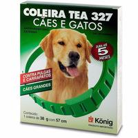 Coleira Contra Pulgas E Carrapatos Cães Gatos Porte Grande