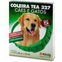 Coleira Tea 327 Pulgas E Carrapatos Cães E Gatos 38g - 57 Cm