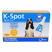 K-spot 4 Ml Anti Pulgas E Carrapatos Para Cães De 7,5 A 15kg