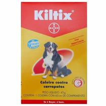 Kiltix Coleira Anti Pulgas E Carrapatos Bayer Cães Grandes