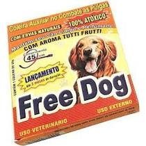 Coleira Antipulgas Free Dog Adulto