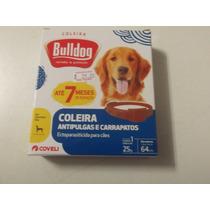 Coleira Antipulgas E Carrapatos Bulldog 7 Meses De Duração