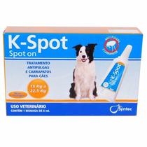 K-spot 6 Ml Anti Pulgas E Carrapatos Para Cães De 15 A 22kg