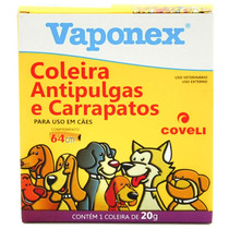 Coleira Vaponex Antipulgas E Carrapatos Para Cães