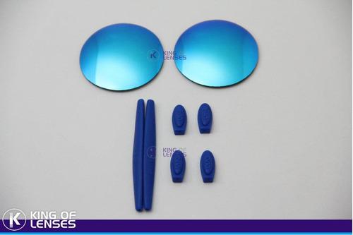 Combo Lente Custom + Borrachinha Para Oakley Mars