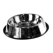 Comedouro Bebedouro Para Cães E Gatos Aço Inox 480ml
