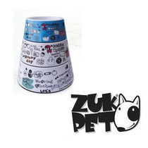 Kit 3 Comedouro Bebedouro Estampado Funny Para Caes E Gatos