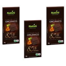 Kit Páscoa Chocolate Orgânico Native 85% Cacau, Sem Ovo