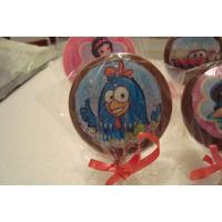 Pirulitos De Chocolate Personalizados - 12 Un R$ 20,00