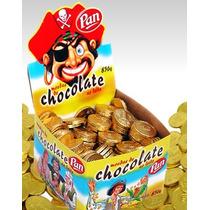 Moeda Chocolate Pan Ao Leite 830 Gr C/ Aprox. 240 Unidades