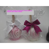 Maça Do Amor Coberta Com Chocolate (10 Unidades)