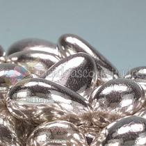 Amêndoas Confeitadas Prata 100 Unidades