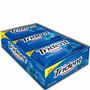 Caixa De Chiclete Trident Azul Hortelã / Menta - 21 Unidades