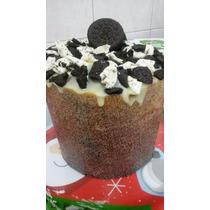 Panetone Artesanal Recheado Com Brigadeiro Gourmet 1kg A14