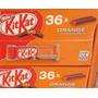 Caixa Chocolate Kit Kat Sabor Laranja Orange C/ 36 Barras