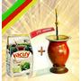 Y3p6 Kit Chimarrão Cuia +bomba + Filtro + Erva+ Chá + Manual