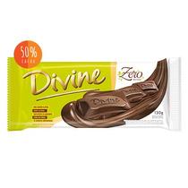 Chocolates Divine 0 Lactose,s/ Açucar C/12 Barras De 130g