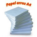Papel Arroz A4 Para Tinta Comestível - Pacote C/ 100 Folhas