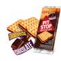 Biscoito Recheado Pit Stop Chocolate Marilan 124g