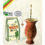 Y1p4 Kit Chimarrão Cuia +bomba + Filtro + Erva+ Chá + Manual