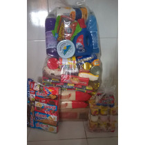 Cesta Basica+kit Biscoito+kit Iogurte Promoção Frete Gratis