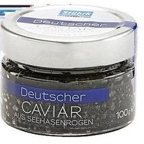 Caviar Negro Stuhrk Alemão Ovas De Salmão 100 Gramas
