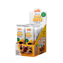 Barra De Mixed Nuts Original - Caixa Fechada Com 6 Displays