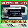 Kit Papel Arroz A3 - Profissional Print