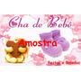 Chá De Bebê Menina - Papel Arroz Para Bolo A3 - Mod. 3a2
