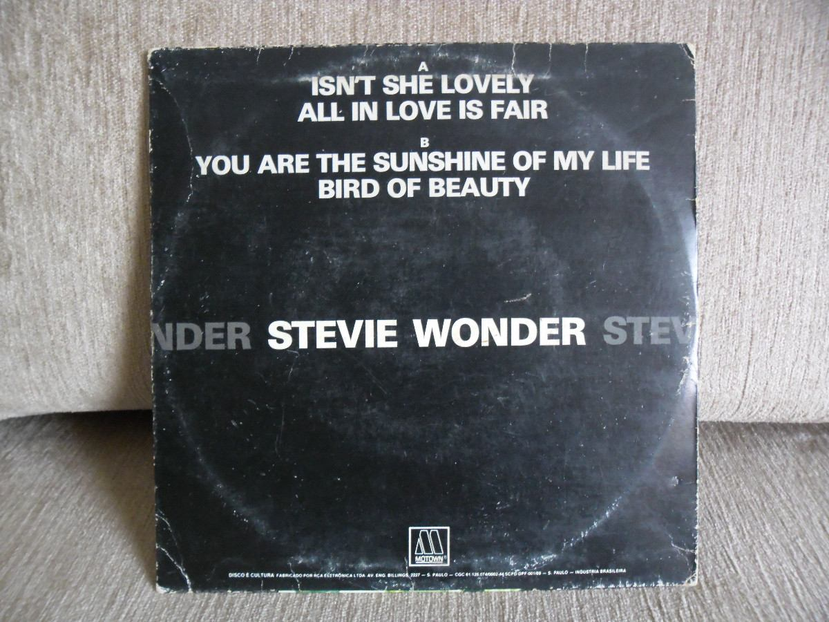 Compacto Stevie Wonder - You Are The Sunshine Of My Life