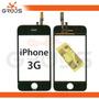 Tela Vidro Iphone 3g Touchscreen + Adesivo 3m