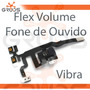 Cabo Flex Volume Vibra Fone Earphone Jack Mute - Iphone 4s