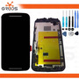 Tela Display Moto G 2 Geração Xt1068 Xt1069 + Ferramentas