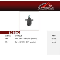 Atuador Da Marcha Lenta Fiat Palio, Siena 1.6 8v 98 À 99