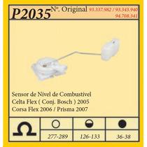 Sensor De Nível De Combustível Celta 2005 Flex-conj. Bosch