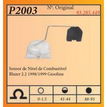 Sensor De Nivel De Combustivel Blazer 2.2 1998/1999 Gasolina