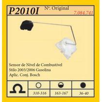 Sensor De Nivel De Combustivel Stilo 2003/2006 Gasolina Apl.