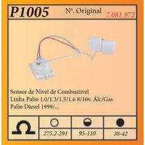 Sensor De Nivel De Combustivel Linha Palio 1.0/1.3/1.5/1.6/