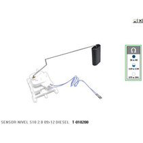 Sensor De Nivel Do Combustivel S10 2.8 09/12 Diesel 80l
