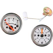 Bóia Elétrica + Ind. Combustível + Relógio Horas Wtop Fusca