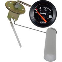 Bóia Elétrica + Marcador Combustível Wplus 60mm Fusca Buggy